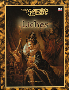 Spirit Games (Est. 1984) - Supplying role playing games (RPG), wargames rules, miniatures and scenery, new and traditional board and card games for the last 20 years sells Complete Guide to Liches Revised