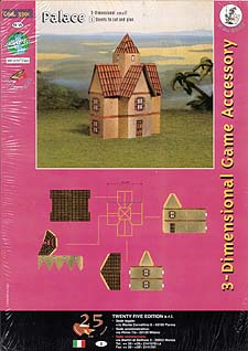 Spirit Games (Est. 1984) - Supplying role playing games (RPG), wargames rules, miniatures and scenery, new and traditional board and card games for the last 20 years sells 3-Dimensional Game Accessory: Palace