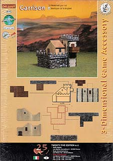 Spirit Games (Est. 1984) - Supplying role playing games (RPG), wargames rules, miniatures and scenery, new and traditional board and card games for the last 20 years sells 3-Dimensional Game Accessory: Garrison