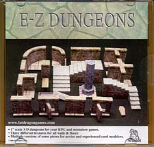 Spirit Games (Est. 1984) - Supplying role playing games (RPG), wargames rules, miniatures and scenery, new and traditional board and card games for the last 20 years sells E-Z Dungeons