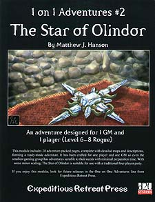 Spirit Games (Est. 1984) - Supplying role playing games (RPG), wargames rules, miniatures and scenery, new and traditional board and card games for the last 20 years sells 1 on 1 Adventures #2: Star of Olindor