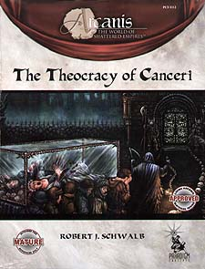 Spirit Games (Est. 1984) - Supplying role playing games (RPG), wargames rules, miniatures and scenery, new and traditional board and card games for the last 20 years sells The Theocracy of Canceri