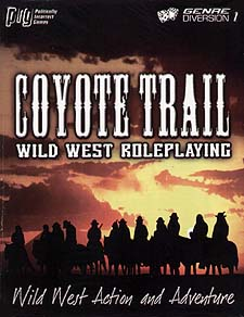 Spirit Games (Est. 1984) - Supplying role playing games (RPG), wargames rules, miniatures and scenery, new and traditional board and card games for the last 20 years sells Coyote Trail: Wild West Roleplaying