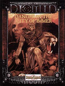 Spirit Games (Est. 1984) - Supplying role playing games (RPG), wargames rules, miniatures and scenery, new and traditional board and card games for the last 20 years sells Diomin: Danger in the City of Immer