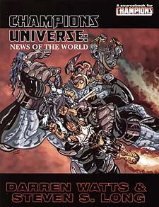 Spirit Games (Est. 1984) - Supplying role playing games (RPG), wargames rules, miniatures and scenery, new and traditional board and card games for the last 20 years sells Champions Universe: News of the World