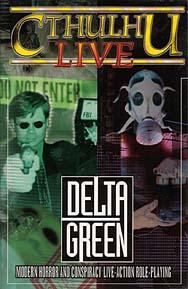 Portada de Cthulhu live: Delta Green