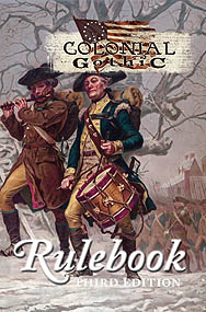 Spirit Games (Est. 1984) - Supplying role playing games (RPG), wargames rules, miniatures and scenery, new and traditional board and card games for the last 20 years sells Colonial Gothic Rulebook 3rd Edition