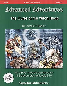 Spirit Games (Est. 1984) - Supplying role playing games (RPG), wargames rules, miniatures and scenery, new and traditional board and card games for the last 20 years sells Advanced Adventures AA#3: The Curse of the Witch Head