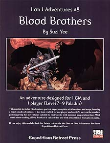 Spirit Games (Est. 1984) - Supplying role playing games (RPG), wargames rules, miniatures and scenery, new and traditional board and card games for the last 20 years sells 1 on 1 Adventures #8: Blood Brothers