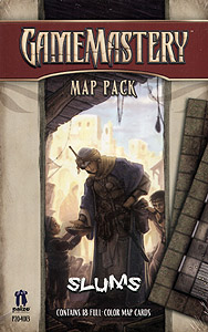 Spirit Games (Est. 1984) - Supplying role playing games (RPG), wargames rules, miniatures and scenery, new and traditional board and card games for the last 20 years sells GameMastery Map Pack: Slums