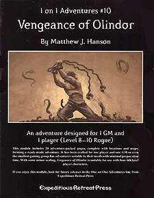 Spirit Games (Est. 1984) - Supplying role playing games (RPG), wargames rules, miniatures and scenery, new and traditional board and card games for the last 20 years sells 1 on 1 Adventures #10: Vengeance of Olindor