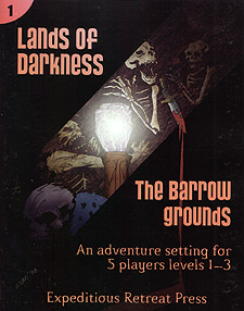 Spirit Games (Est. 1984) - Supplying role playing games (RPG), wargames rules, miniatures and scenery, new and traditional board and card games for the last 20 years sells Lands of Darkness 1: The Barrow Grounds