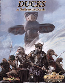 Spirit Games (Est. 1984) - Supplying role playing games (RPG), wargames rules, miniatures and scenery, new and traditional board and card games for the last 20 years sells Glorantha: The Second Age - Ducks: A Guide to the Durulz