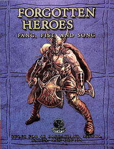 Spirit Games (Est. 1984) - Supplying role playing games (RPG), wargames rules, miniatures and scenery, new and traditional board and card games for the last 20 years sells Forgotten Heroes: Fang, Fist, and Song