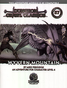 Spirit Games (Est. 1984) - Supplying role playing games (RPG), wargames rules, miniatures and scenery, new and traditional board and card games for the last 20 years sells Dungeon Crawl Classics 57: Wyvern Mountain