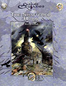 Spirit Games (Est. 1984) - Supplying role playing games (RPG), wargames rules, miniatures and scenery, new and traditional board and card games for the last 20 years sells The Shattered Horn (A5)
