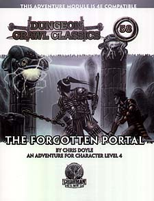 Spirit Games (Est. 1984) - Supplying role playing games (RPG), wargames rules, miniatures and scenery, new and traditional board and card games for the last 20 years sells Dungeon Crawl Classics 58: The Forgotten Portal