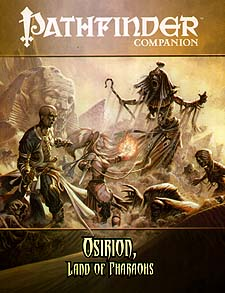 Spirit Games (Est. 1984) - Supplying role playing games (RPG), wargames rules, miniatures and scenery, new and traditional board and card games for the last 20 years sells Pathfinder Companion: Osirion, Land of Pharaohs