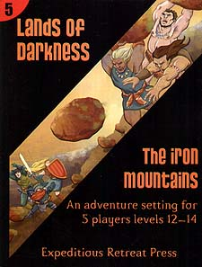 Spirit Games (Est. 1984) - Supplying role playing games (RPG), wargames rules, miniatures and scenery, new and traditional board and card games for the last 20 years sells Lands of Darkness 5: The Iron Mountains