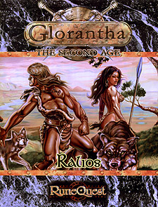 Spirit Games (Est. 1984) - Supplying role playing games (RPG), wargames rules, miniatures and scenery, new and traditional board and card games for the last 20 years sells Glorantha: The Second Age - Ralios