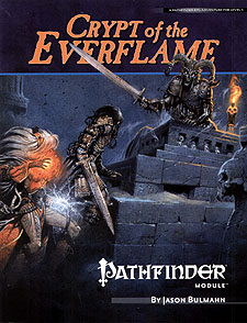 Spirit Games (Est. 1984) - Supplying role playing games (RPG), wargames rules, miniatures and scenery, new and traditional board and card games for the last 20 years sells Pathfinder Module B1: Crypt of the Everflame