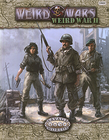 Spirit Games (Est. 1984) - Supplying role playing games (RPG), wargames rules, miniatures and scenery, new and traditional board and card games for the last 20 years sells Weird Wars: Weird War II