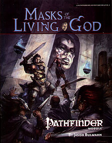 Spirit Games (Est. 1984) - Supplying role playing games (RPG), wargames rules, miniatures and scenery, new and traditional board and card games for the last 20 years sells Pathfinder Module: Masks of the Living God