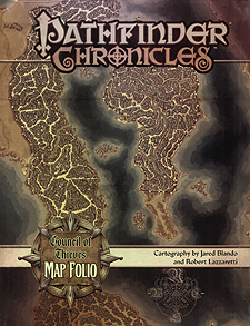 Spirit Games (Est. 1984) - Supplying role playing games (RPG), wargames rules, miniatures and scenery, new and traditional board and card games for the last 20 years sells Pathfinder Chronicles: Council of Thieves Map Folio