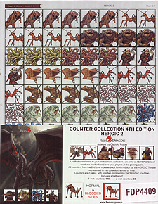 Spirit Games (Est. 1984) - Supplying role playing games (RPG), wargames rules, miniatures and scenery, new and traditional board and card games for the last 20 years sells Counter Collection 4th Edition: Heroic 2