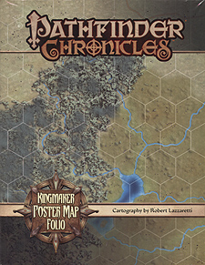 Spirit Games (Est. 1984) - Supplying role playing games (RPG), wargames rules, miniatures and scenery, new and traditional board and card games for the last 20 years sells Pathfinder Chronicles: Kingmaker Poster Map Folio