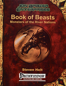 Spirit Games (Est. 1984) - Supplying role playing games (RPG), wargames rules, miniatures and scenery, new and traditional board and card games for the last 20 years sells Book of Beasts: Monsters of the River Nations