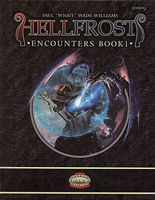 Spirit Games (Est. 1984) - Supplying role playing games (RPG), wargames rules, miniatures and scenery, new and traditional board and card games for the last 20 years sells Hellfrost: Encounters Book 1