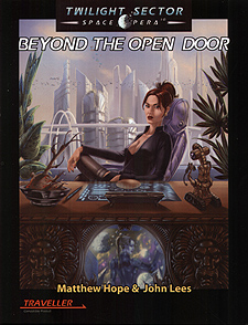 Spirit Games (Est. 1984) - Supplying role playing games (RPG), wargames rules, miniatures and scenery, new and traditional board and card games for the last 20 years sells Beyond the Open Door: Twilight Sector Space Opera