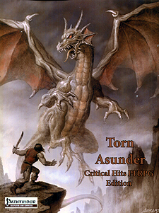 Spirit Games (Est. 1984) - Supplying role playing games (RPG), wargames rules, miniatures and scenery, new and traditional board and card games for the last 20 years sells Torn Asunder Critical Hits PFRPG Edition