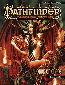 Spirit Games (Est. 1984) - Supplying role playing games (RPG), wargames rules, miniatures and scenery, new and traditional board and card games for the last 20 years sells Pathfinder Campaign Setting: Lords of Chaos Book of the Damned, Vol 2