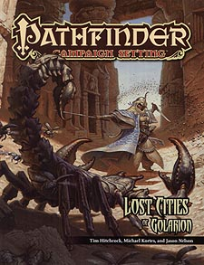 Spirit Games (Est. 1984) - Supplying role playing games (RPG), wargames rules, miniatures and scenery, new and traditional board and card games for the last 20 years sells Pathfinder Campaign Setting: Lost Cities of Golarion