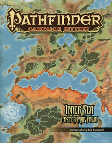 Spirit Games (Est. 1984) - Supplying role playing games (RPG), wargames rules, miniatures and scenery, new and traditional board and card games for the last 20 years sells Pathfinder Campaign Setting: Inner Sea Poster Map Folio
