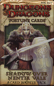 Spirit Games (Est. 1984) - Supplying role playing games (RPG), wargames rules, miniatures and scenery, new and traditional board and card games for the last 20 years sells Dungeons and Dragon Fortune Cards: Shadow over Nentir Vale