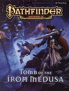 Spirit Games (Est. 1984) - Supplying role playing games (RPG), wargames rules, miniatures and scenery, new and traditional board and card games for the last 20 years sells Pathfinder Module: Tomb of the Iron Medusa