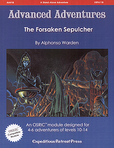 Spirit Games (Est. 1984) - Supplying role playing games (RPG), wargames rules, miniatures and scenery, new and traditional board and card games for the last 20 years sells Advanced Adventures AA#18: The Forsaken Sepulcher