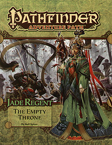 Spirit Games (Est. 1984) - Supplying role playing games (RPG), wargames rules, miniatures and scenery, new and traditional board and card games for the last 20 years sells Adventure Path 054: Jade Regent - The Empty Throne