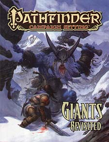 Spirit Games (Est. 1984) - Supplying role playing games (RPG), wargames rules, miniatures and scenery, new and traditional board and card games for the last 20 years sells Pathfinder Campaign Setting: Giants Revisited