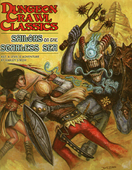 Spirit Games (Est. 1984) - Supplying role playing games (RPG), wargames rules, miniatures and scenery, new and traditional board and card games for the last 20 years sells Dungeon Crawl Classics 67 : Sailors on the Starless Sea by