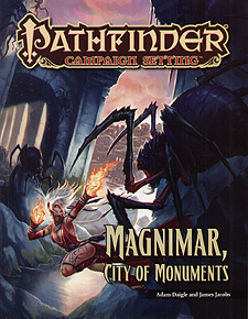 Spirit Games (Est. 1984) - Supplying role playing games (RPG), wargames rules, miniatures and scenery, new and traditional board and card games for the last 20 years sells Pathfinder Campaign Setting: Magnimar, City of Monuments