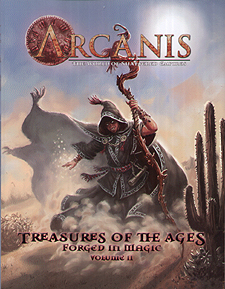 Spirit Games (Est. 1984) - Supplying role playing games (RPG), wargames rules, miniatures and scenery, new and traditional board and card games for the last 20 years sells Treasures of the Ages : Forged in Magic Volume II