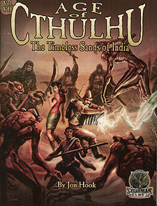 Spirit Games (Est. 1984) - Supplying role playing games (RPG), wargames rules, miniatures and scenery, new and traditional board and card games for the last 20 years sells Age of Cthulhu Vol VII: The Timeless Sands of India