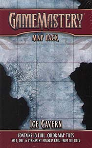 Spirit Games (Est. 1984) - Supplying role playing games (RPG), wargames rules, miniatures and scenery, new and traditional board and card games for the last 20 years sells GameMastery Map Pack: Ice Cavern