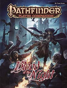 Spirit Games (Est. 1984) - Supplying role playing games (RPG), wargames rules, miniatures and scenery, new and traditional board and card games for the last 20 years sells Pathfinder Companion: Blood of the Night