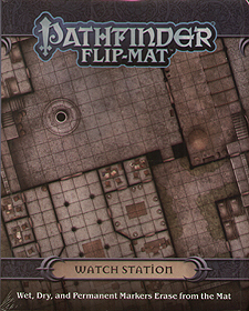 Spirit Games (Est. 1984) - Supplying role playing games (RPG), wargames rules, miniatures and scenery, new and traditional board and card games for the last 20 years sells Pathfinder Flip-Mat: Watch Station