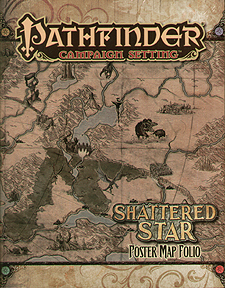 Spirit Games (Est. 1984) - Supplying role playing games (RPG), wargames rules, miniatures and scenery, new and traditional board and card games for the last 20 years sells Pathfinder Campaign Setting: Shattered Star Poster Map Folio